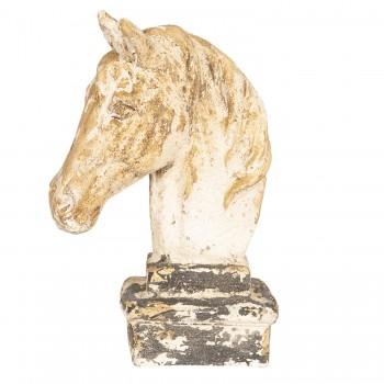Pferdekopf im Shabby Chic Stil