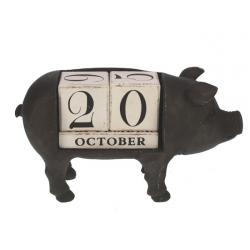 """Ewiger Kalender """"Schweinchen"""""""