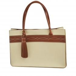 Elegante Lederhandtasche...